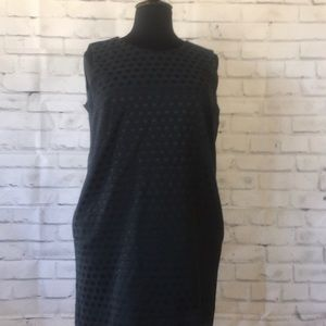 Navy Blue GAP Dotted Dress